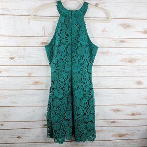 Lulu's Dresses - Lulus Dress Size XS Poem Lace Halter Mini Scallop